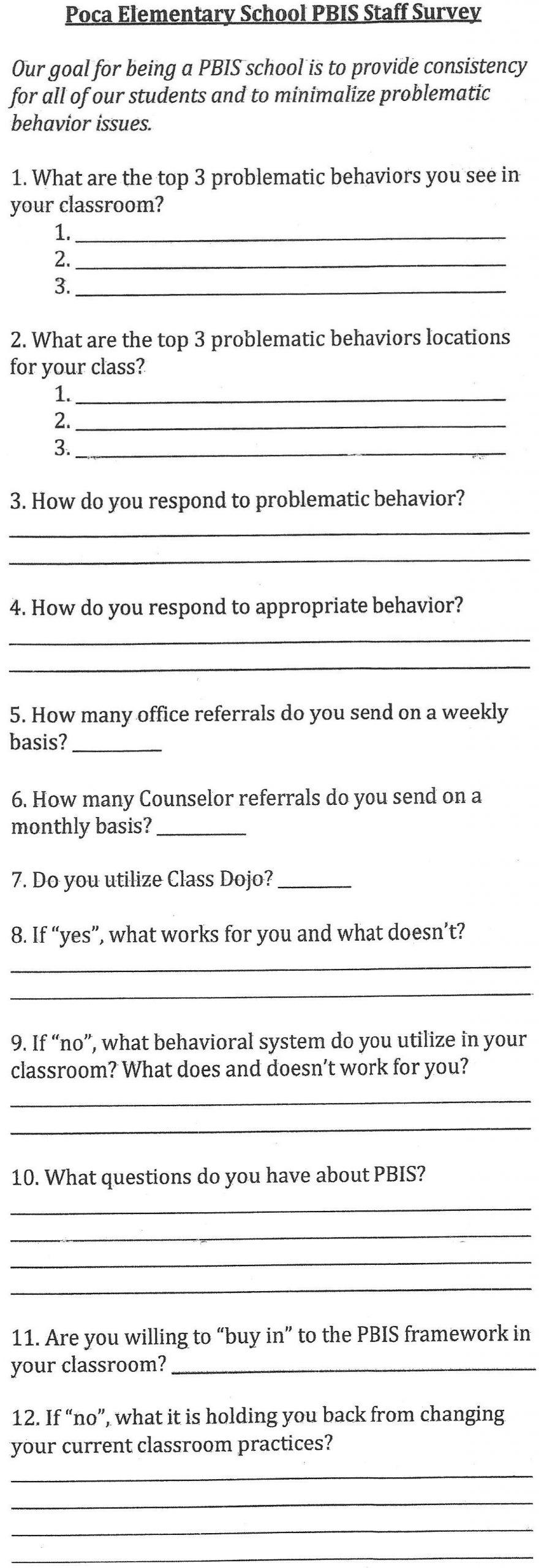Staff Survey combine