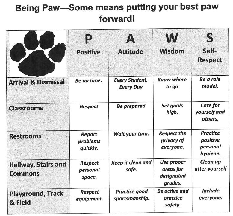 paws example